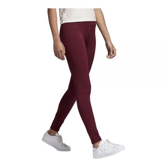 1cde8a4da78dc8 adidas Pants | Womens Originals Adibreak Leggings Maroon | Poshmark